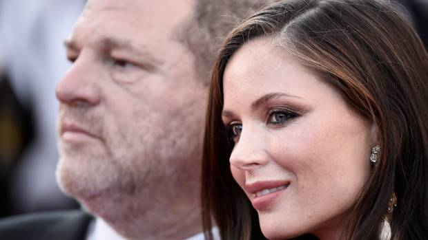 Weinstein said he supported his wife's decision to leave.