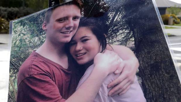 Crash victim Thomas Armit, pictured with his girlfriend Tenesha Gibbins in a photograph left at the scene.