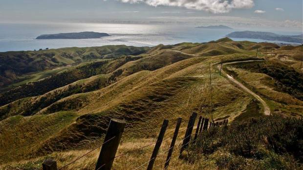 The Colonial Knob Walk looking to Mana and Kapiti Islands.