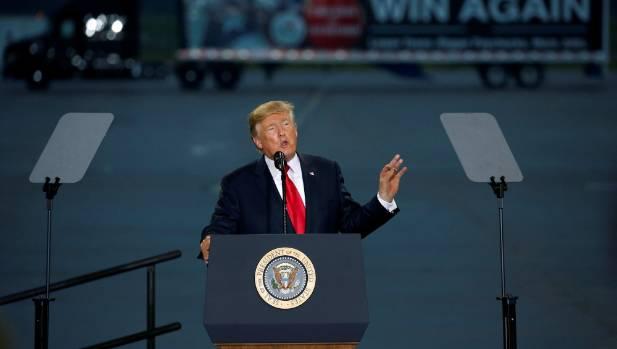 US President Donald Trump has been increasingly under pressure during a torrid week.