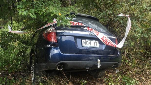 Dunedin man Paul Le Comte found his parents' crashed car on the side of the road on the corner of Maruia Saddle Rd and ...