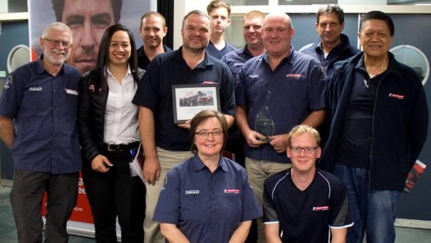 Coastguard units from Papakura, Waiuku, Titirangi and Auckland Air Patrol were presented the Rescue of the Year prize at ...