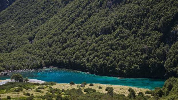 The Blue Lake, in Nelson Lakes National Park, has a 16-bunk less than 100m from the shore of this exquisite lake which ...