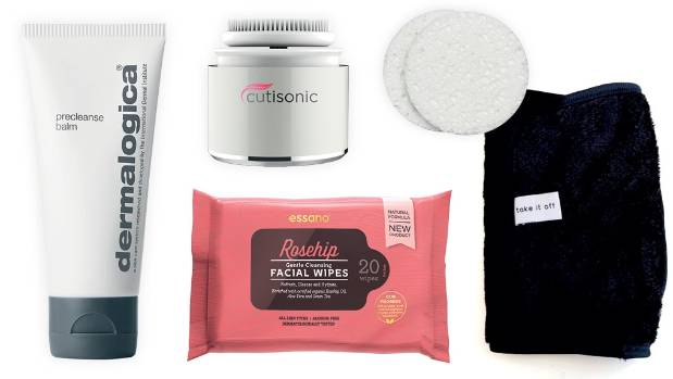 Your cleaning kit: Dermalogica PreCleanse Balm, $75; Cutisonic Sonic facial cleanser and makeup applicator, $125; Essano ...