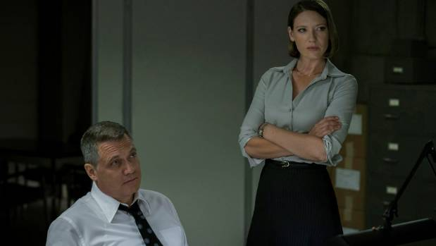 Mindhunter also stars Anna Torv and Holt McCallany.