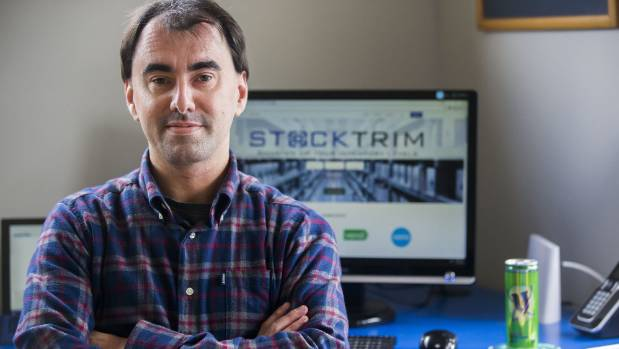 "Feilding coder Paul Simpson has spent years developing a ""machine learning"" algorithm that predicts the amount of stock ..."