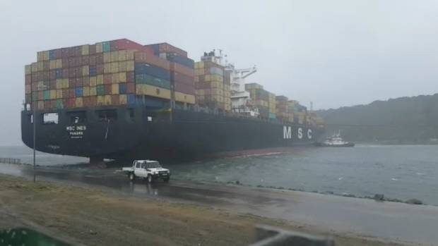 Transnet Refloats Vessel Grounded at Port of Durban Entrance