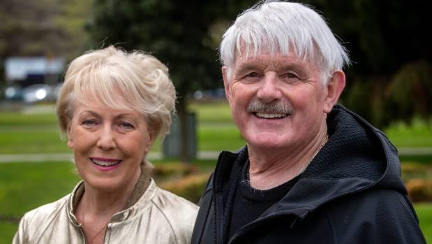 Robyn Gaustad-Mangnus and her husband Tony Mangnus, in Palmerston North last week.