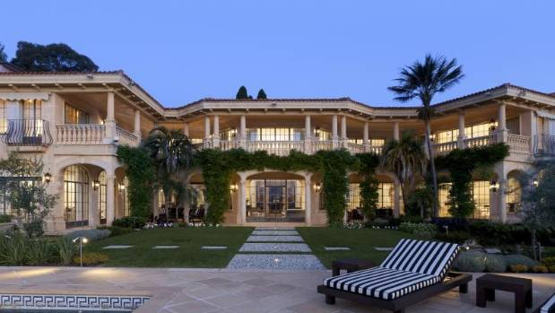 Evergrande chairman Xu Jiayin paid A$39 million for the Point Piper mansion, Villa del Mare, in Sydney, on one of ...