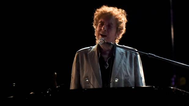 Bob Dylan performs during the Firefly Music Festival in Dover, US.