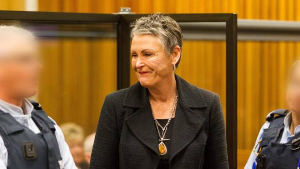 Susan Mouat was sentenced in the High Court in New Plymouth on Friday, six years after her husband's death.