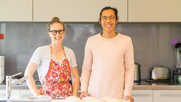 Rosie Sargisson and Jeff Fong enjoying life outside of their previous corporate careers.