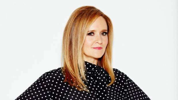 "US talkshow host Samantha Bee devoted her entire first segment this week to ""this season's second giant vortex of ..."