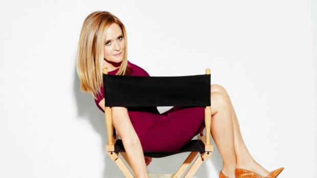 Samantha Bee says sexual harrassment is society-wide and plagues all professions.