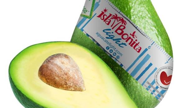 Fruit producer selling 'low-fat' avocado