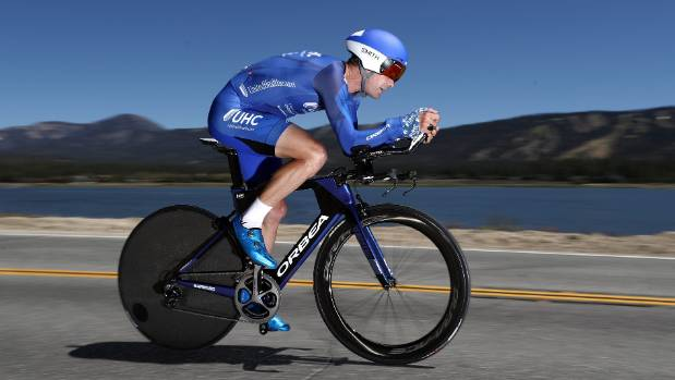 Greg Henderson of New Zealand in action during stage six of the Tour of California earlier this year.
