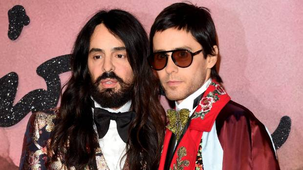 Gucci has enjoyed a revival under designer Alessandro Michele, left.