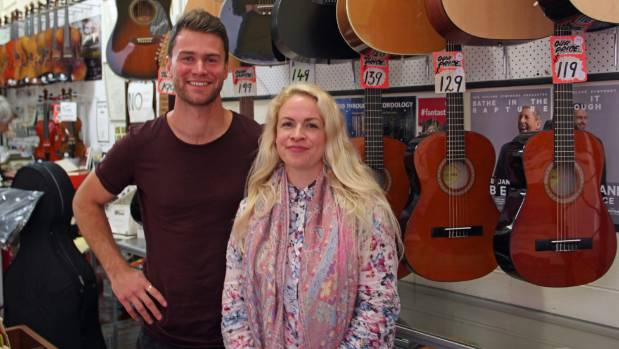 Singer-songwriter Ciaran McMeeken and Takapuna Library librarian Lisa Hampe, are collaborating to create Co.Vibe, a ...