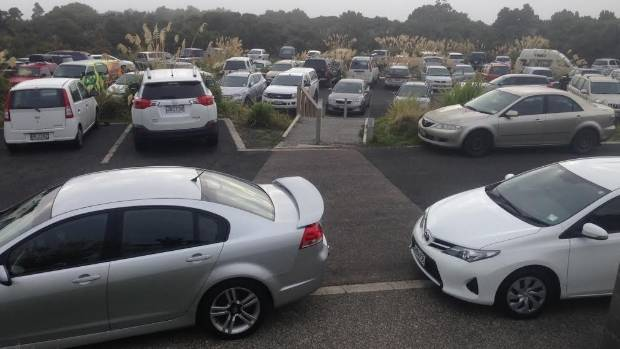 The car park at North Egmont Visitor Centre was packed all through last summer.