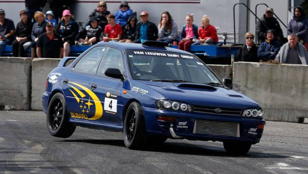 The Van Leeuwens sponsor the Waimate 50 motor event being held this week.