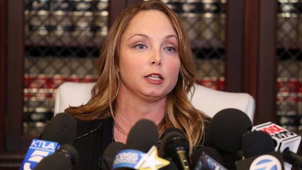 Louisette Geiss joined a growing list of women who have alleged Harvey Weinstein sexually harassed them.