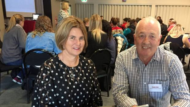 Vision Education director Dr Alison Davis of Auckland and Big River Cluster Kahui Ako Community of Learning executive ...