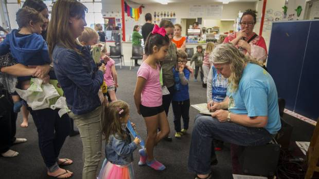 The Wonky Donkey creator Craig Smith entertained children at Rumpus Room in New Plymouth. Children and parents lined up ...