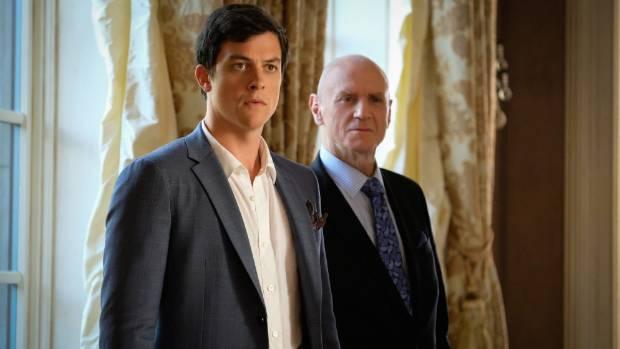 James Mackay and Kiwi Alan Dale star in Dynasty.