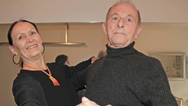 Gaye and Willem Bessem get back into ballroom dancing.