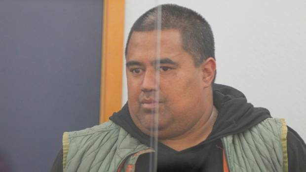 Sonny Wairau appearing for sentencing at Wellington District Court on Friday. After poaching of hundreds of kilograms of ...