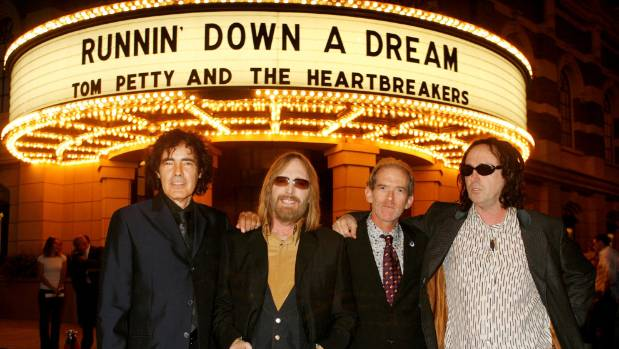 Tom Petty and the Heartbreakers performed together for four decades.