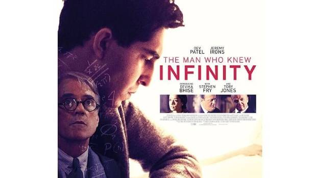 2015 British film The Man Who Knew Infinity starred Dev Patel and Jeremy Irons, and told the story of Indian maths ...
