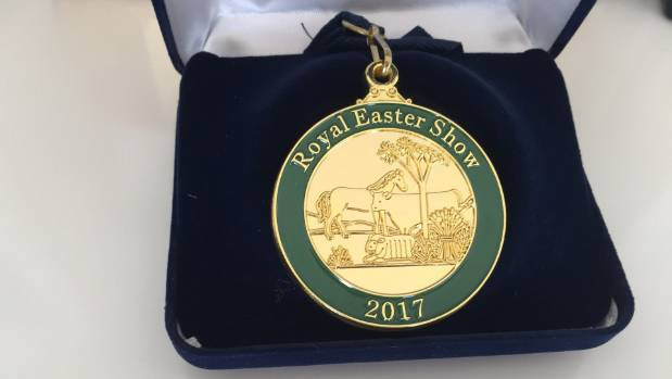 Royal Easter Show medal.