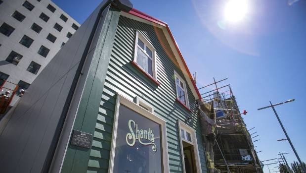 The restoration of the 157-year-old Shand's building will be finished by Christmas.