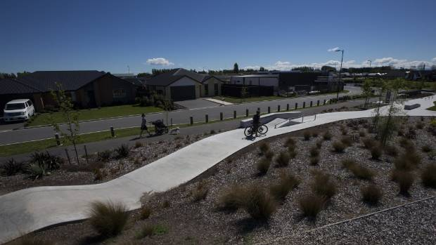 "Some community members in Christchurch's Prestons subdivision are concerned they will ""end up with a flat piece of ..."