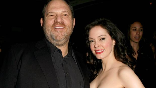 Harvey Weinstein and Rose Mc Gowan during the'Grindhouse Los Angeles Premiere in 2007