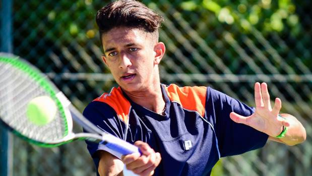 Ajeet Rai is seen as one of the country's top prospects, but hasn't always received help from Tennis NZ.