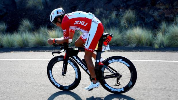 Canadian Sanders second in world Ironman