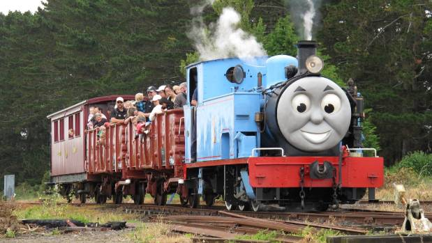 Thomas the Tank Engine gets a jolt