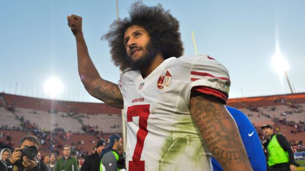 Colin Kaepernick began kneeling during the national anthem to protest police brutality