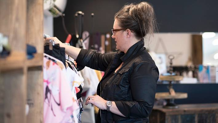 A niche boutique on the outskirts of Christchurch is pulling punters