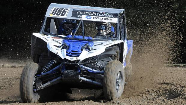 Championship leader Roger McKay in action during this year's NZ offroad racing series.