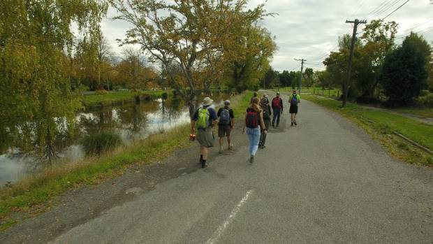 The catalyst for Seven Rivers Walking was a series of walks and talks around Canterbury waterways earlier this year.