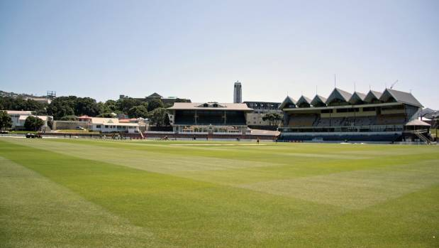 Wellington's Basin Reserve, the closest venue to Levin that can host first class cricket matches.