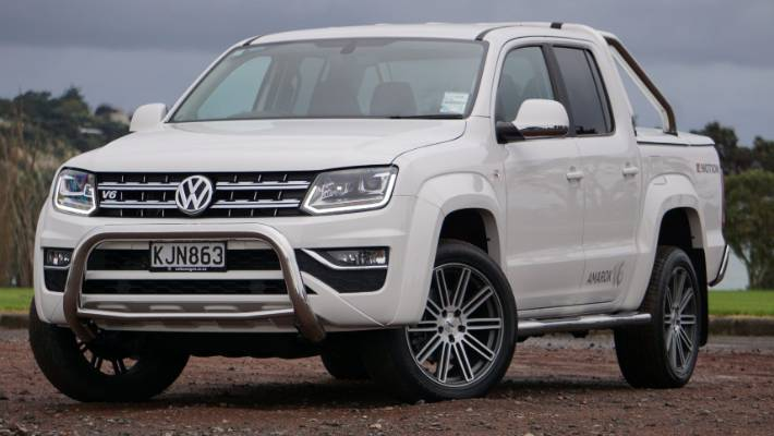 New V6 Ed Amarok Dominates Lifestyle Pickup Truck Market With Torque And Technology