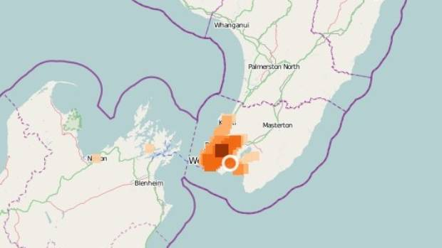 The quake struck at 5.17pm at a depth of 18km, according to Geonet.