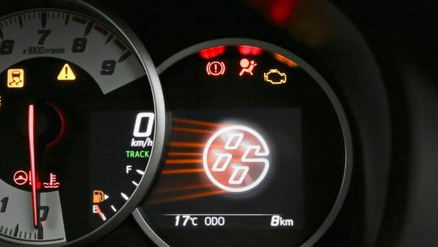 New revcounter for GT86 puts 7000rpm at the top.