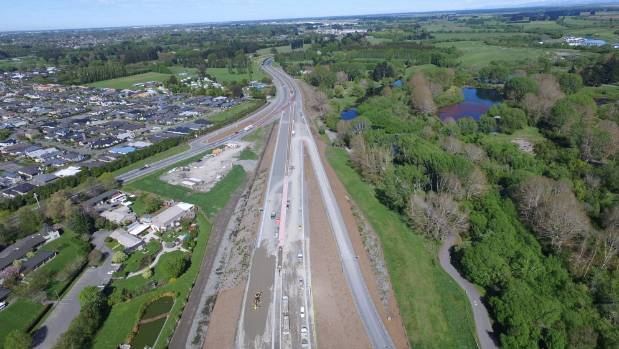 Christchurch motorway addition almost ready for traffic