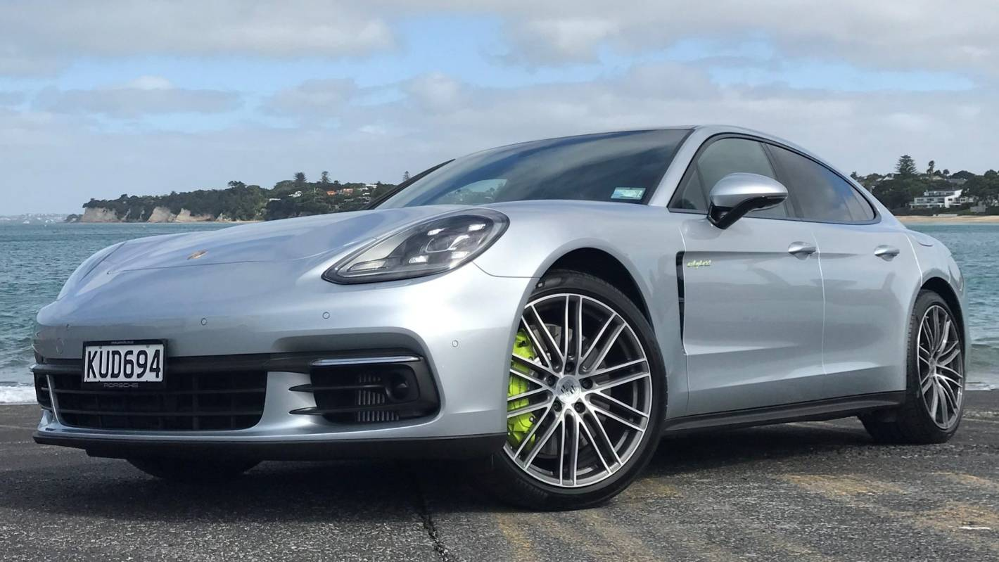 porsche adds some mean into the very green panamera 4 e hybrid