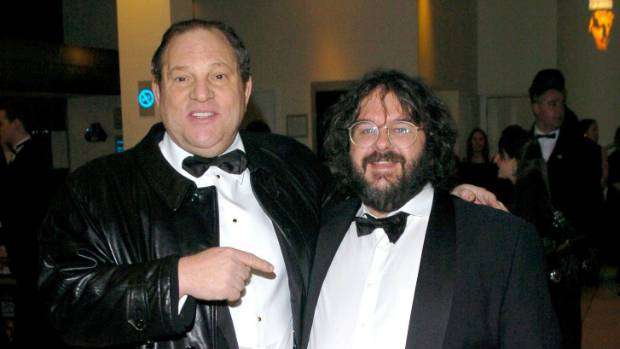 Sir Peter Jackson remains silent on Harvey Weinstein